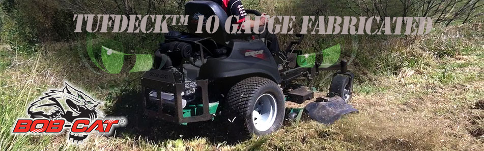 fabricated zero turn mower decks :: Bobcat Australia
